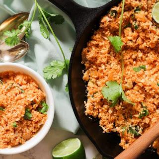 Cauliflower Mexican Rice (Paleo, Vegan, Keto, Whole30).