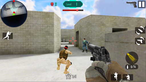 Télécharger Guerre Gun Shoot mod apk screenshots 3