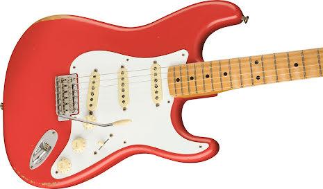 Fender Vintera Road Worn Limited Edition 50*s Stratocaster Fiesta Red