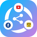 Share ALL : File Transfer and Data share anything icon