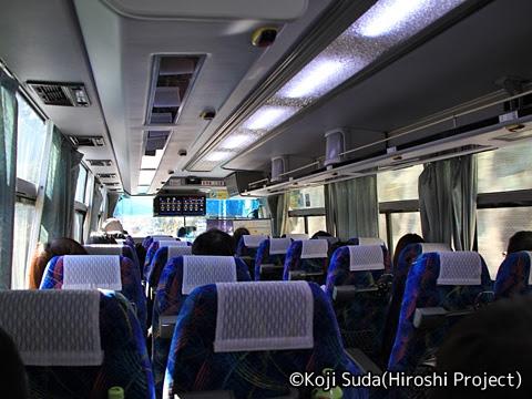 長崎県交通局「特急長崎雲仙線」 5K53 車内