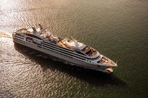 Ponant-Le-Boreal-at-sea.jpg - The 264-passenger Le Boreal calls on ports in smaller towns and cities around the world.