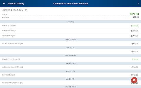 PriorityONE Credit Union of Fl screenshot 6