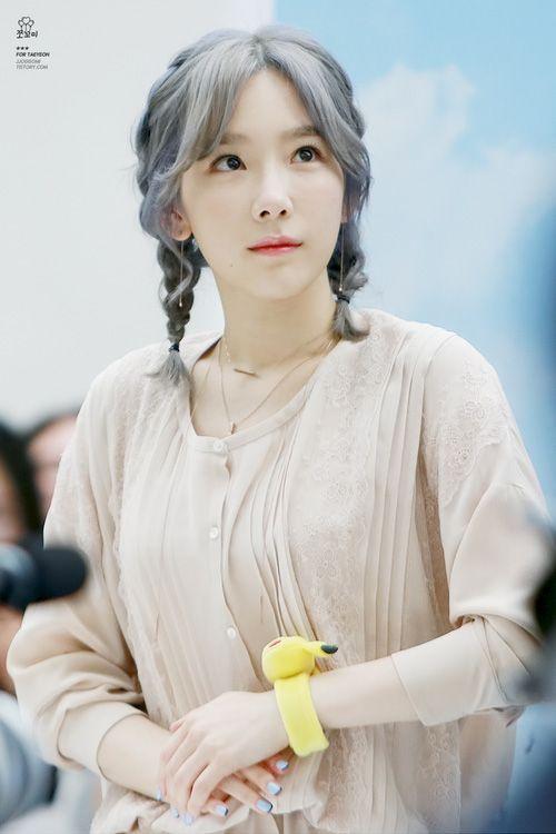 taeyeon hair 100