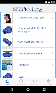 acuProducts- screenshot thumbnail