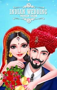 Indian Wedding Bride Makeover and Makeup - náhled