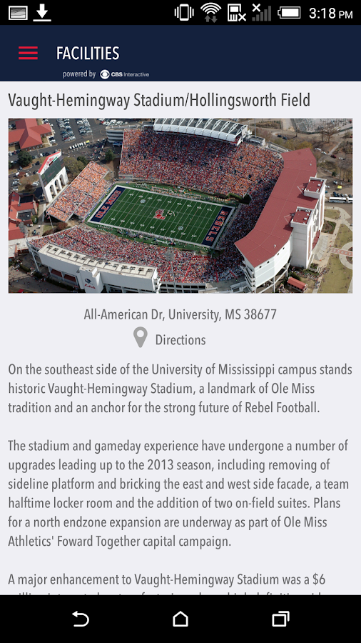 OleMissSports.com Gameday LIVE- screenshot