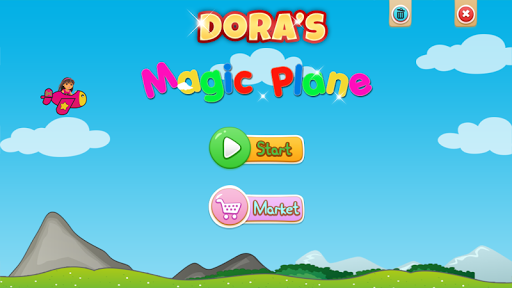 Dora's Magic Plane Flight