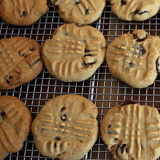 Peanut Butter-Chocolate Chip Cookies.