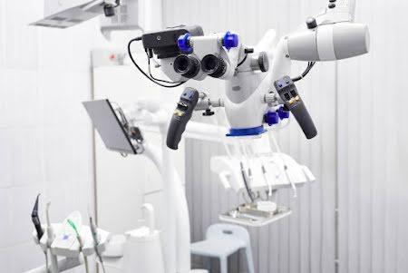 De operatiemicroscoop