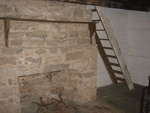 Photo: inside Alfred's cabin - there is a loft above