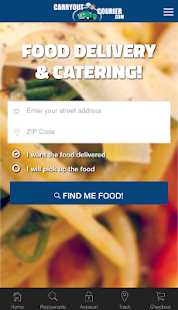 Carryout Courier-Food Delivery- screenshot thumbnail