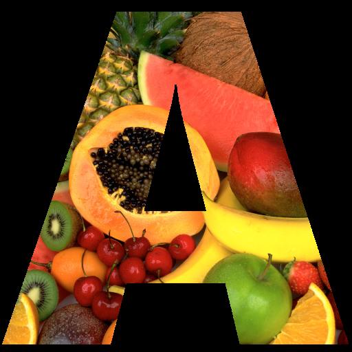 Алфавит овощи и фрукты