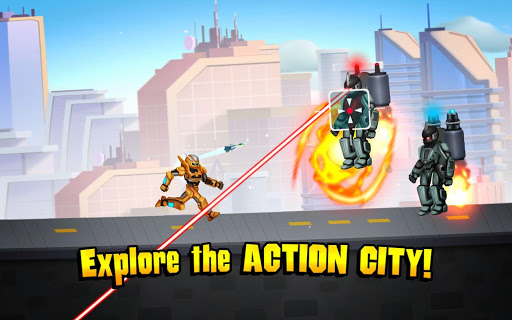 Automatrons 2: Robot Car Transformation Race Game 3.41 screenshots 4