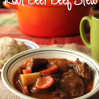 Root Beer Beef Stew
