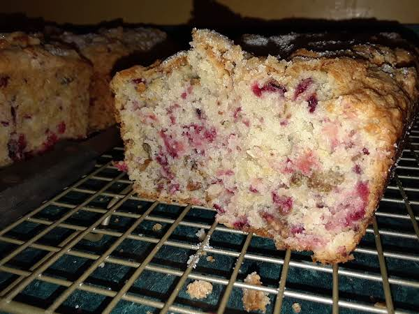 Very Dense Bread, Loaded With Fresh Cranberries And Pecans