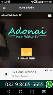 Adonai Web Rádio TV- screenshot thumbnail