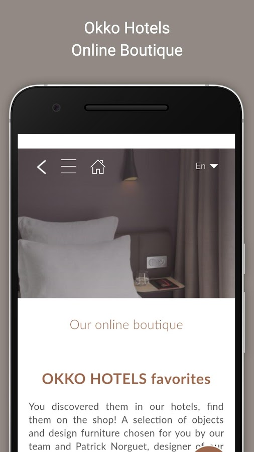 Okko Hotels- screenshot