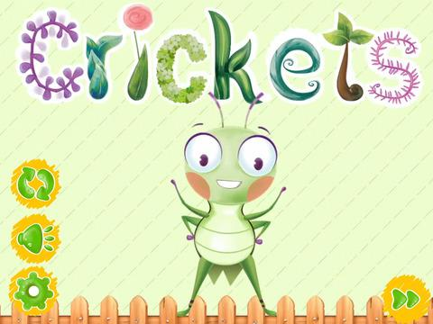 Crickets: captura de pantalla