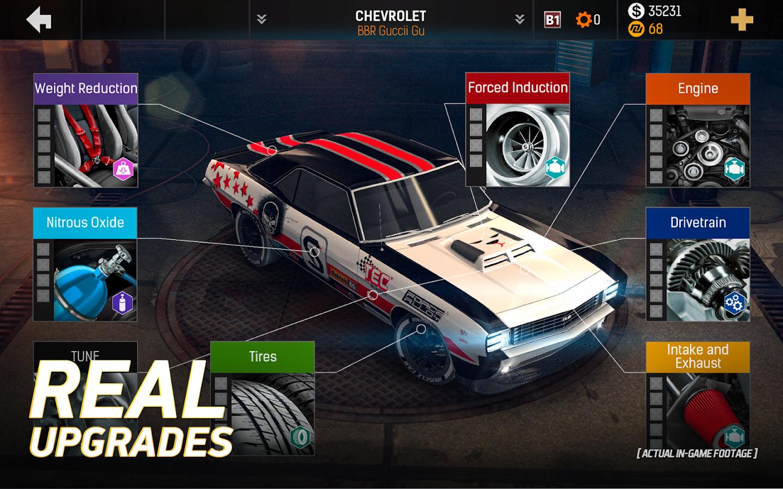 Nitro nation drag racing screenshot