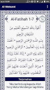 Al-Matsurat - náhled