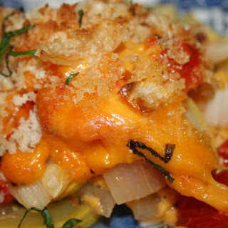 Layered Squash and Tomato Casserole