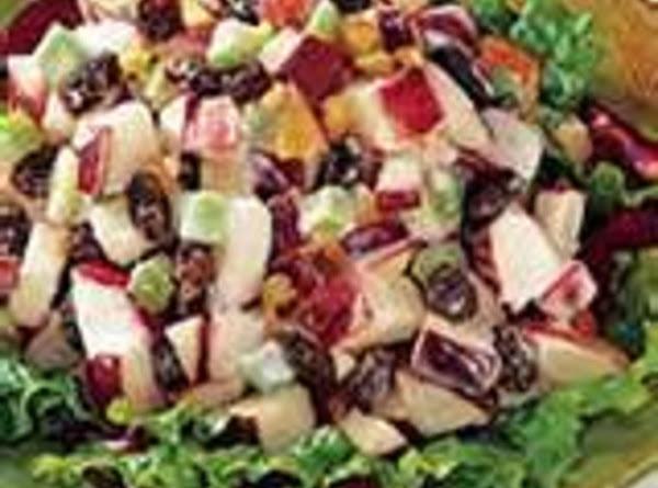 Apple Harvest Crunchy Crisp Salad Recipe