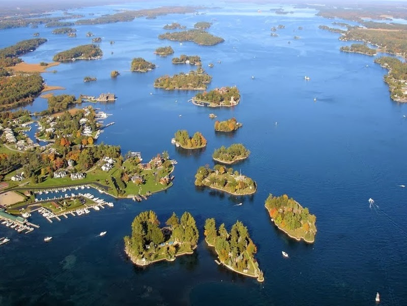 Thousand Islands, o Jardim do Grande Espírito