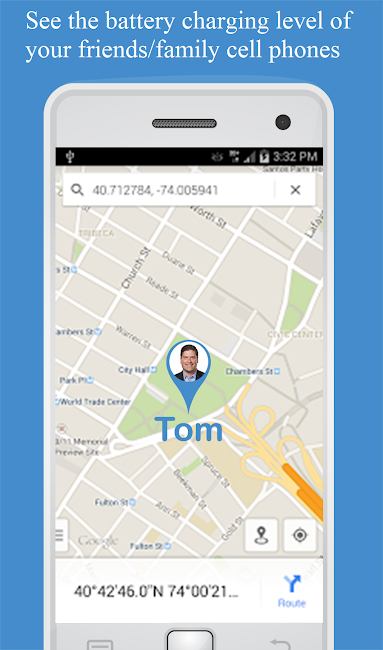 #5. Friend Locator : Phone Tracker (Android)