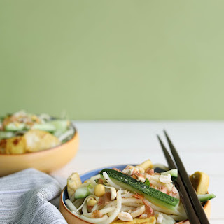 Cold Yakisoba Noodles with Cucumber and Mint Recipe