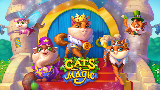 Cats & Magic: Dream Kingdom apkdebit screenshots 2