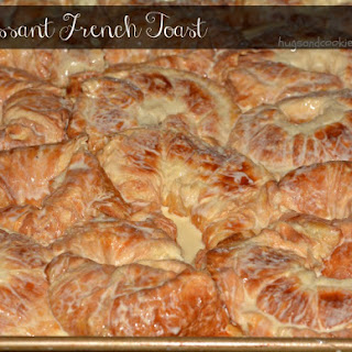 Croissant French Toast.