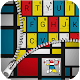 Mondrian Mordern Art Fashion Keyboard Theme (app)