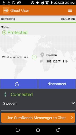 SumRando VPN 3.8 screenshots 3