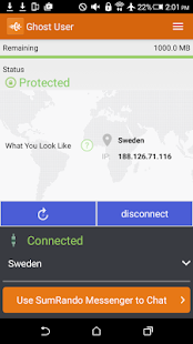 SumRando VPN Screenshot