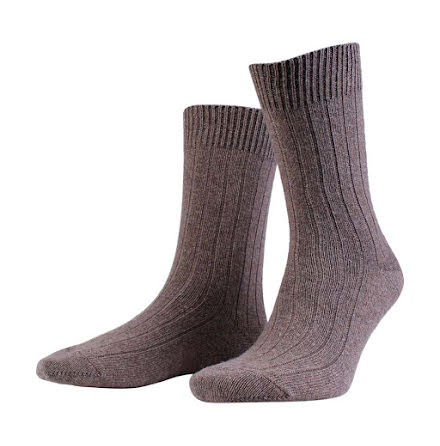 Amanda Christensen Supreme ankle sock brown melange