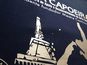 Photo: T shirt personnalisé et imprimé en flocage Flex Or (Gold Hotmark70 Chemica) / Teeshirtmania