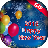 Happy New Year GIF 2018 - HNY GIF 2018