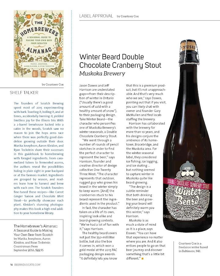 BeerAdvocate magazine- screenshot