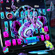 Colorful Graffiti Art Headphone Keyboard Download for PC Windows 10/8/7