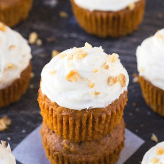 Healthy Flourless Carrot Cake Breakfast Muffins Recipe