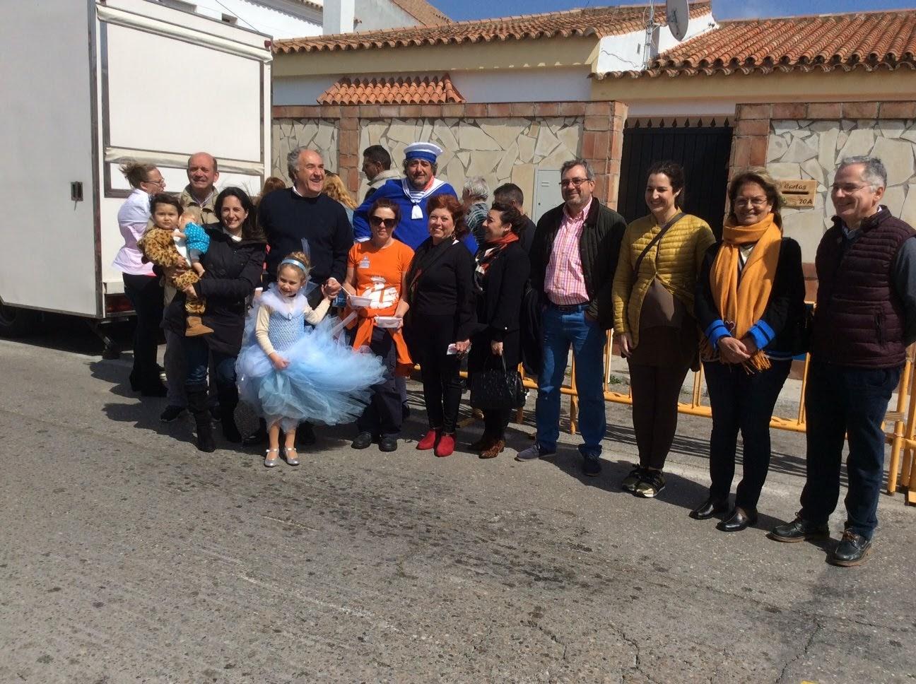 Landaluce comparte con los vecinos de El Acebuchal su IV Sorpresada Popular