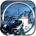 Mountain Sniper Assassin Shoot Icon