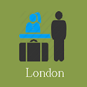 London Hotels and Flights icon