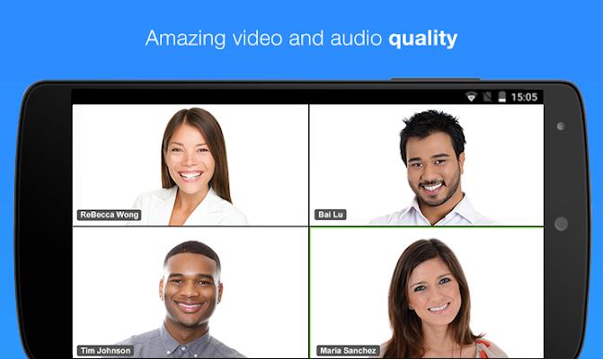 ZOOM Cloud Meetings - screenshot