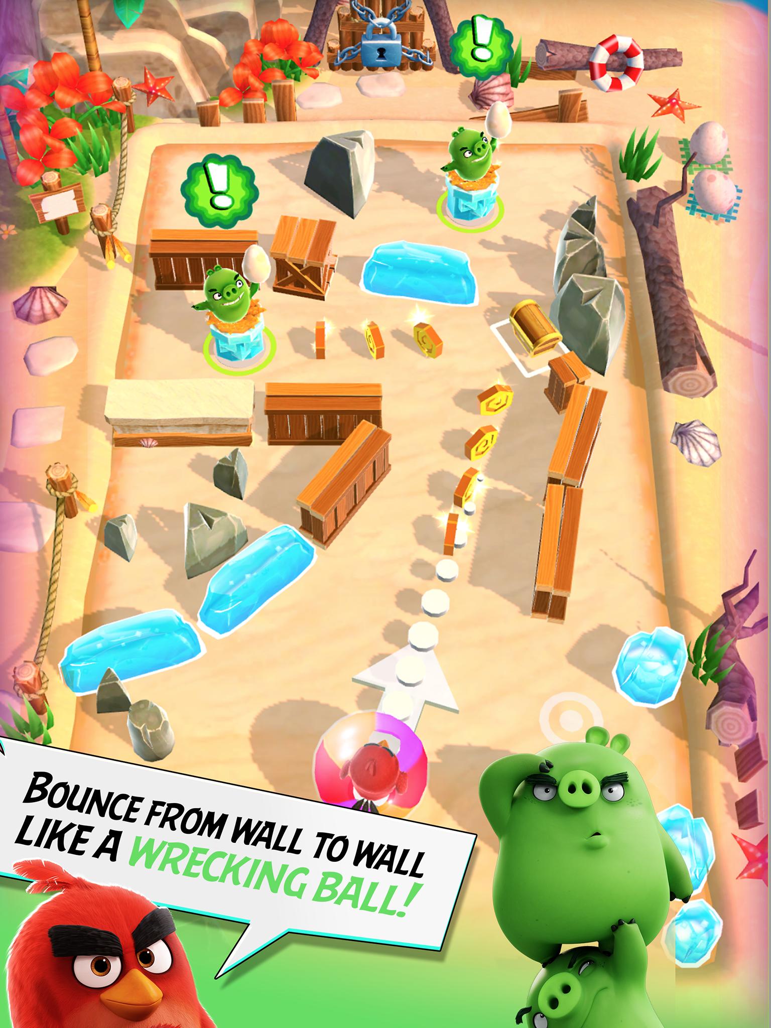 Angry Birds Action! screenshot #12