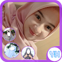 Beauty Selfie Hijab Photo Frame icon