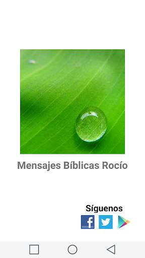 Rocío Mensaje Bíblico