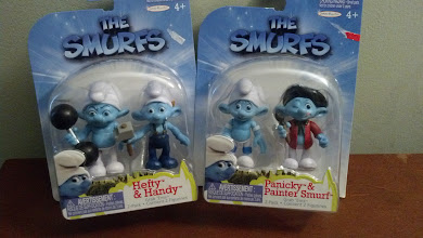 Photo: smurfs for my bday!