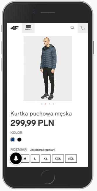 karta produktu mobile